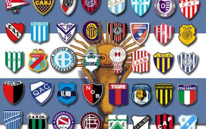 Argentina, i soprannomi dei clubs di calcio-5