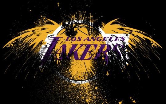 Los Angeles Lakers: il logo dei giallo-viola della NBA