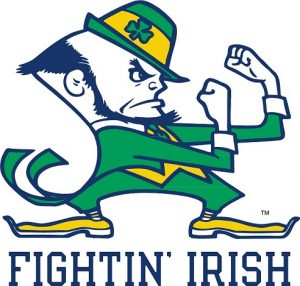 Fightin Irish che prende spunto dal logo dei celtics