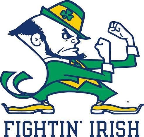 Fightin Irish che prende spunto dal logo dei celtics