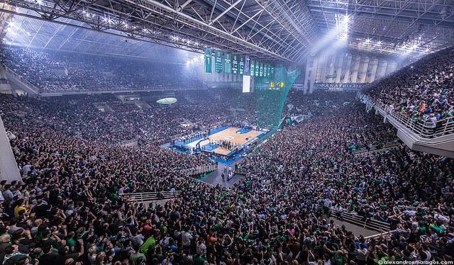 OAKA Arena: la casa del Panathinaikos