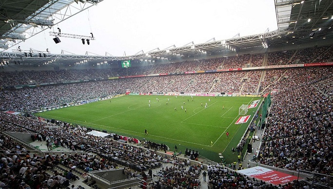 lo stadio del Borussia Monch