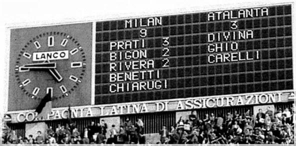 Serie A, la partita con il record di goals: Milan-Atalanta 9-3