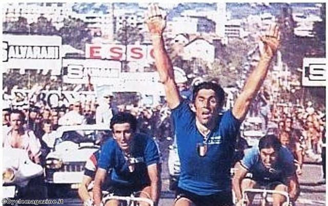 Le Grandi rimonte nel ciclismo: Basso-Bitossi a Gap 1972