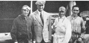Enzo Ferrari con Tazio Nuvolari