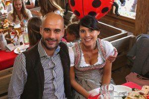 Pep Guardiola e Cristina Serra