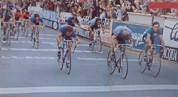 Le Grandi Rimonte: Maertens beffa Saronni sul traguardo di Praga 1981