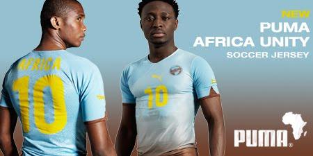 Africa Unity: la maglia che doveva unire il Continente Nero