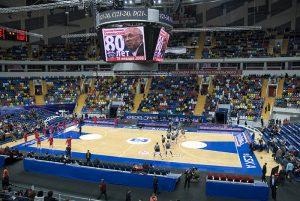 L'interno della Megasport Arena