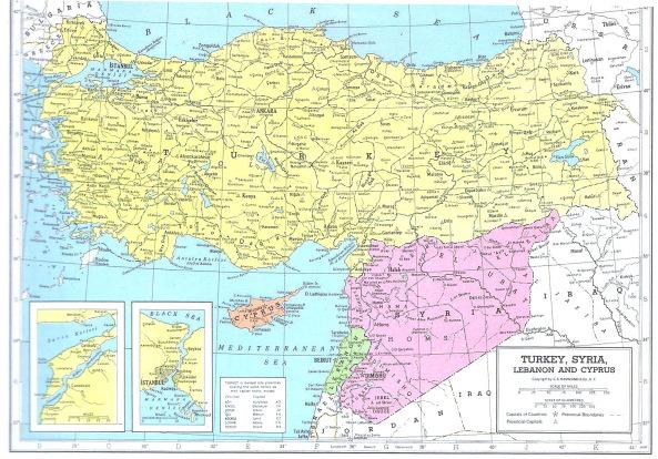 Turchia-Siria: l'unico precedente per andare a Brasile 1950
