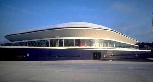 Antares, il palazzo dello sport di Le Mans