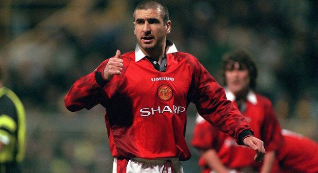 Eric Cantona, che vinse due Premier come uomo-mercato