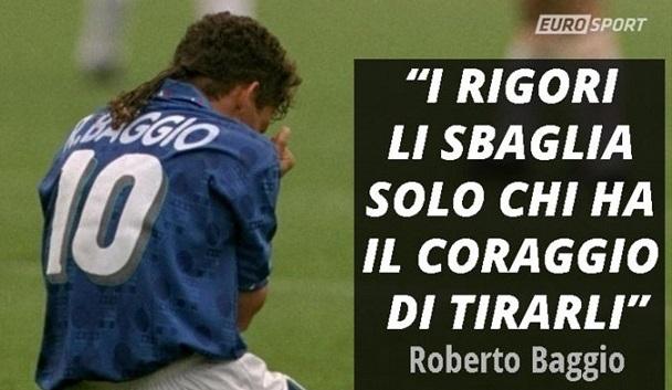 Le frasi famose di Roberto Baggio