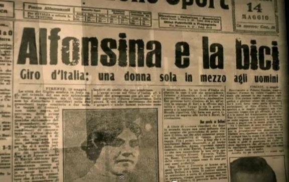 Alfonsina Strada, la donna che corse il Giro d'Italia con gli uomini