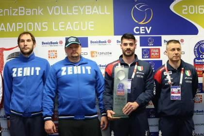 Albo d'Oro Champions League Volley maschile