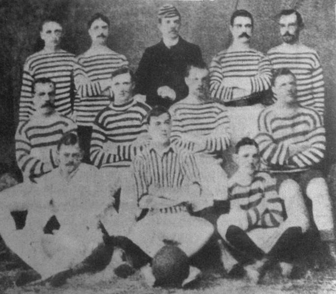 La prima squadra campione di calcio dell'Argentina
