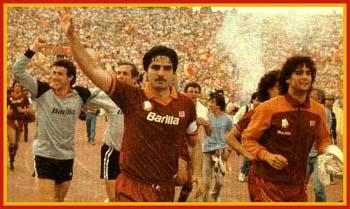Le partite dello scudetto: Roma-Torino 3-1 maggio 1983