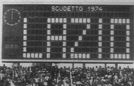 Lazio-Foggia 1-0: il primo scudetto biancazzurro del 1974
