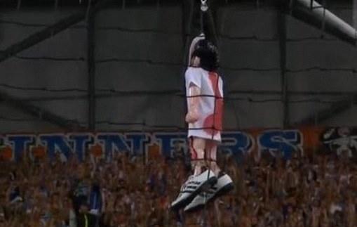 Quando i tifosi del Marsiglia appesero Valbuena in curva