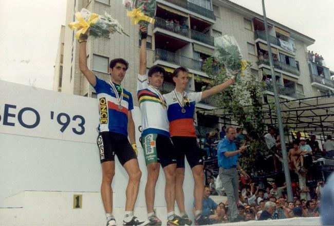 Benidorm 1992: la sorpresa del Bugno-bis nel Mondiale di ciclismo