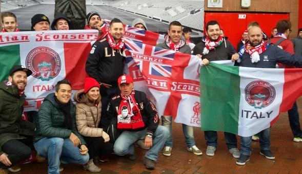 Liverpool: Passione infuocata per il branch italiano dei Reds