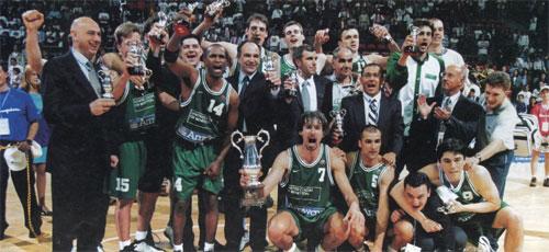 Albo d'oro Coppa Saporta (ex Coppa Coppe) del basket