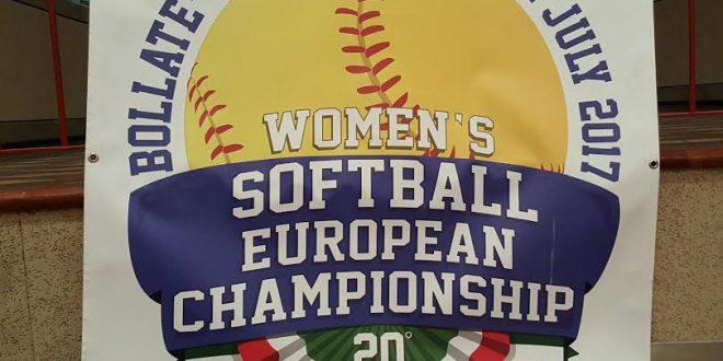 Softball: programma degli europei 2017