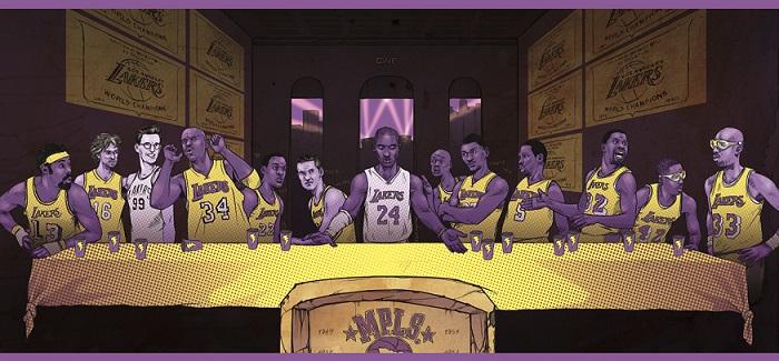 Lakersland, dove il mondo è solo LA-gialloviola