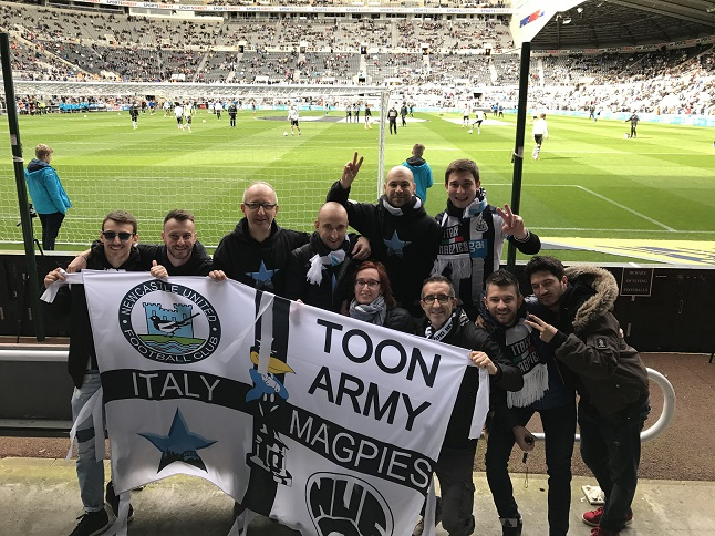 Intervista con: Italy Magpies, il fans club italiano del Newcastle