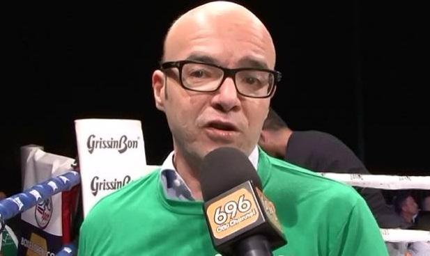 Fabio Panchetti al microfono