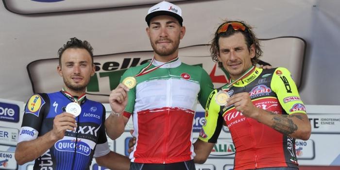 Ciclismo: campionato italiano su strada 2017