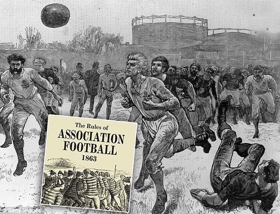 La prima partita della storia del calcio finì con un noioso 0-0
