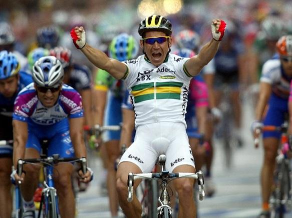 Robbie McEwen: il velocista australiano che dominava al Tour