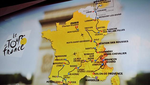Tour de France 2017: tappe, percorso, altimetrie, iscritti
