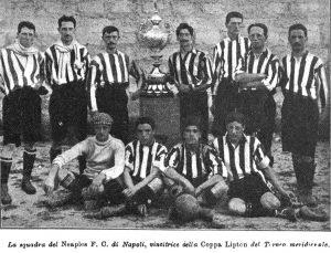 Il Naples vincitore della Coppa Lipton