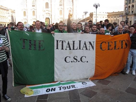 The italian celtic fans