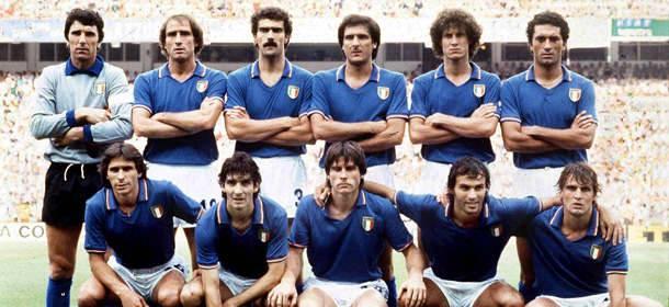 La formazione dell'Italia campione del mondo 1982