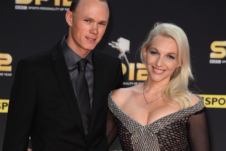 Froome e moglie ad un evento di gala