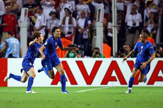 Mondiali 2006: Italia-Germania 2-0, tabellino e video