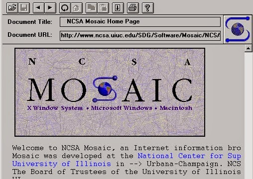Il browser ncsa mosaic