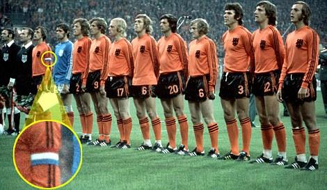 Cruyff e la maglia dello scandalo