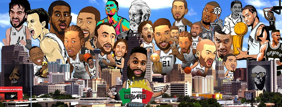 San Antonio Spurs: la fanzone italiana in Facebook trascina i texani
