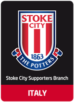 il logo del branch italiano dello stoke city
