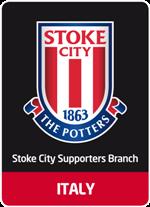 il logo del branch italiano dello stoke city
