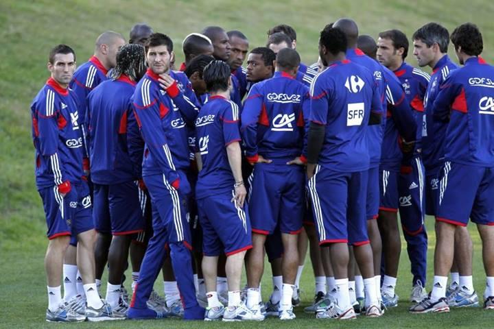 L'ammutinamento della Francia vice-campione del mondo