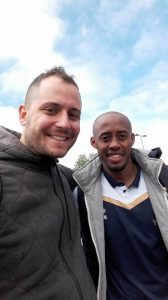 Dell'anna con Jimmy Abdou