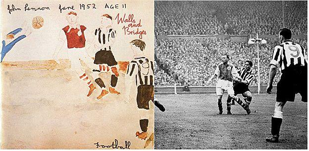 George Robledo, il calciatore che finì in un disco di John Lennon