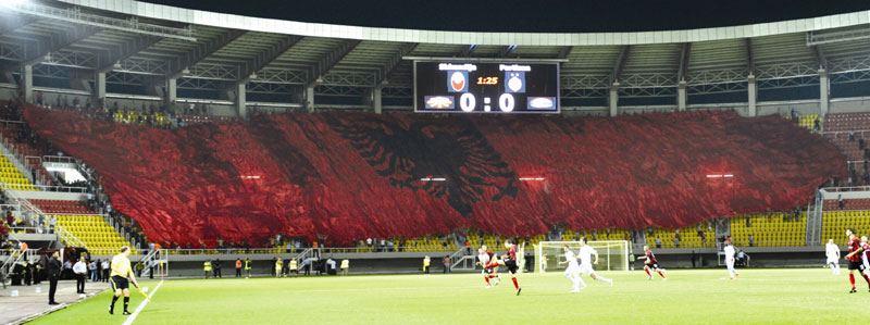 tifosi del FK Shkendija