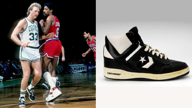 Converse Weapon: le scarpe di Bird e Magic Johnson
