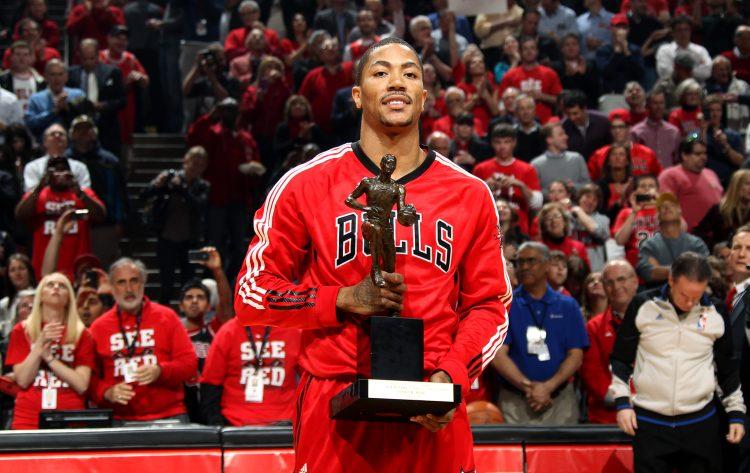 Derrick Rose: il più giovane MVP della NBA